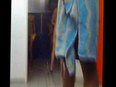 Hidden cam vidz Shower BONER