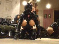 Roxina Gagged vidz Latex Rider  super X