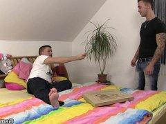 Pizza boy vidz getting lured  super into gaysex