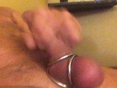 Masturbating with vidz new toy.