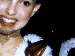 Natalie Portman vidz Cum Tribute  super Young Sexy Boobs Lingerie