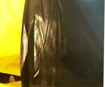 Black and vidz yellow oilskin  super wank.