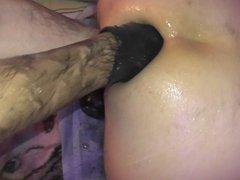 Elbow Deep vidz Anal Fisting  super closeup