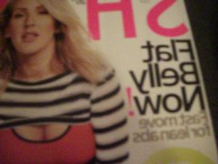 Ellie Goulding vidz Cum Tribute  super (Shape Magazine December 2015)