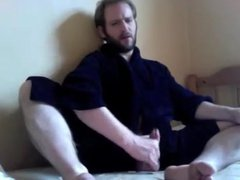 Str8 daddy vidz bedroom wank