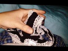 Morning Cumming vidz Into Panties  super Crotch Pocket