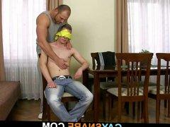 Strong gay vidz man drills  super his tight hetero ass