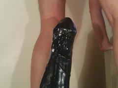 Big black vidz anal monster  super dildo