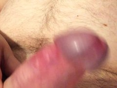 Jerking off vidz my uncut  super cock with happy end 19.12.2015