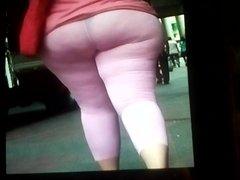 My Hot vidz Cum on  super her Bubble Round BootyFull BBW Heavy Bottom