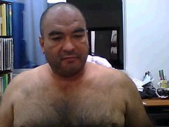 Colombian daddy vidz show his  super cock
