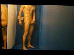 jerk off vidz in the  super shower