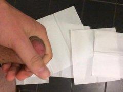 Big Load vidz on public  super toilet in Slow Motion