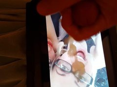 My cum vidz tribute to  super an open mouthed little hottie