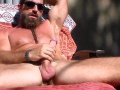 long bearded vidz muscle guy  super solo #4