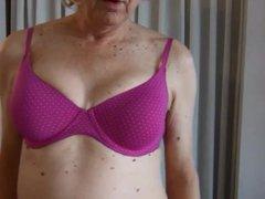 Naughty Gigi vidz showing new  super Boxing Day bras