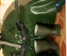 Green cape vidz wank.