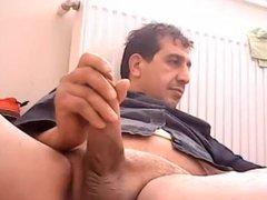 Masturbating Turkey-Turkish vidz daddy Big  super Dicked