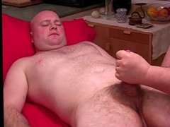 Hand Job vidz to Bald  super Man
