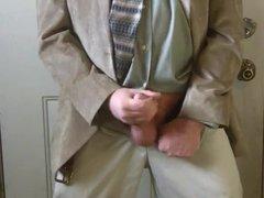 Str8 Israeli vidz daddy jerk  super off in suit