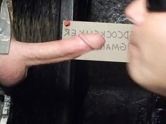 Military man vidz in uniform  super sucked off at gloryhole (HM)