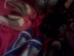 Creaming heels vidz and panties