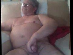 grandpa stroke vidz on cam(no  super cum)