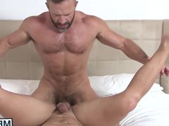 Dirk Caber vidz and Nicoli  super Cole in a hot bedroom banging