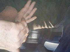 Jerking off vidz on the  super bus. Nice Cum shot