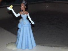 Ebony Princess vidz Cumshot
