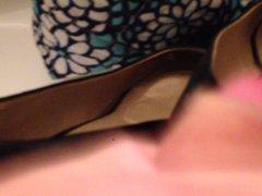 Cum in vidz Sis-in-Laws black  super heels.
