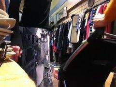 tranny clothes vidz shopping stripping  super public