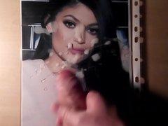 Cum Tribute vidz on Kylie  super Jenner