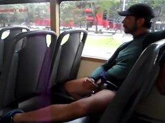 Jerk off vidz in bus