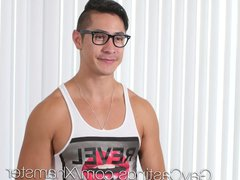 GayCastings - vidz HOT New  super Stud Zander Fucked By Perverted Agent