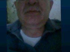 grandpa watching vidz my cock  super and licking underwear