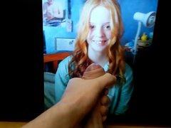 Insanely Cute vidz Redhead Teen  super gets Big Tribute