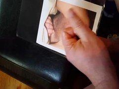 Cum shot vidz Tribute for  super user Jthefox hairy pussy cum dump