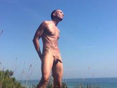 On a vidz Beach