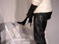 Cum on vidz highheelded Lace  super Boots