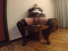 Gorgeous Thick vidz Blonde Sissy  super Maid