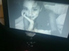 Large slow vidz motion Cumshot  super on Ariana Grande