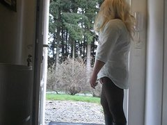 lilian77 sissy vidz in front  super of my house with a cb6000s