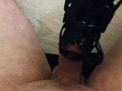 branle et vidz ejaculation cum  super sur chaussure de ma salope