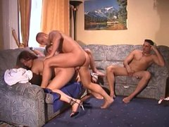 Studs in vidz Hungary fuck  super girls, each other and an old man