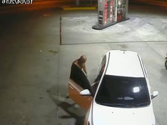 Hot guy vidz sucking a  super dick at the gas station