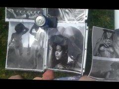 Cum Tribute vidz to Rihanna  super in Backyard