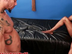 Ebony bottom vidz assdrilled jizzes  super massive load