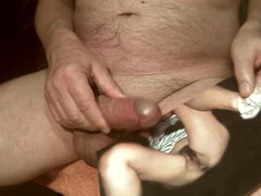 Tribute for vidz Colreg -  super cumshot on a hairy pussy