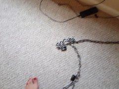No escape vidz for shackled  super feet